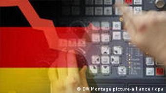 Symbolbild Maschinenbau Deutschland (Grafik: DW)