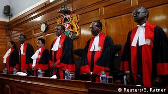 Kenia Nairobi Oberstes Gericht bestätigt Wiederwahl Kenyattas