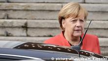 Berlin nach dem Ende der Sondierungsgespräche - Merkel