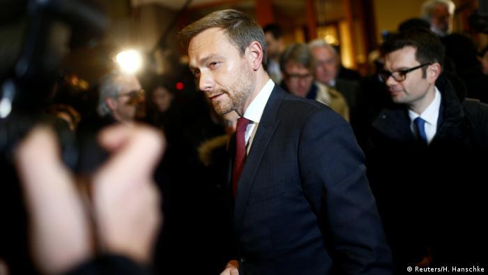 Deutschland Jamaika-Koalition Abbruch Sondierungsgespräche | Christian Lindner, FDP