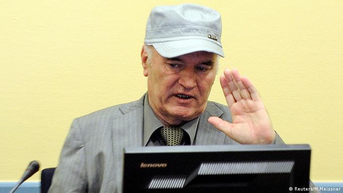 Ratko Mladić u Haagu