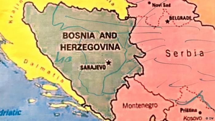 Dodik Balkan Karte (DW)