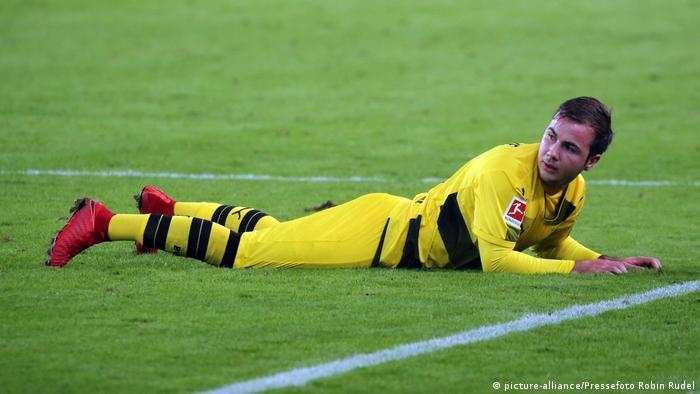 Mario Götze has struggled since returning to Borussia Dortmund (picture-alliance/Pressefoto Robin Rudel)