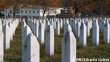 Srebrenica / November 2017 Memorial cemetery in Potocari village near Srebrenica, where UN troops were based in the time of the massacre, doing nothing to prevent it.