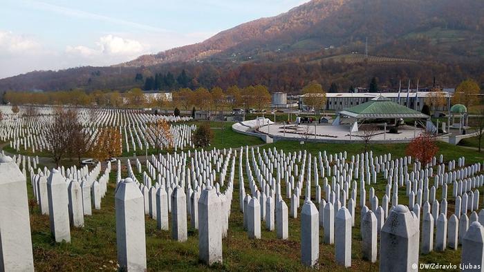 Groblje za žrtve genocida u Srebrenici