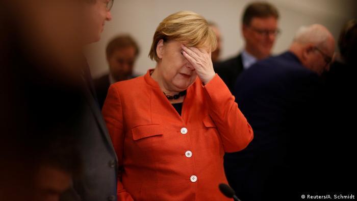 Deutschland Ende Jamaika-Koalition Sondierungsgespräche | Angela Merkel; Bundeskanzlerin (Reuters/A. Schmidt)