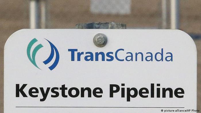 Logo de Keystone Pipeline.