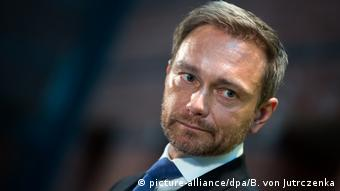 Deutschland Christian Lindner in Berlin (picture-alliance/dpa/B. von Jutrczenka)