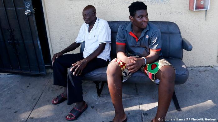 USA Haitianischer Einwanderer Woodchy Darius in Immokalee