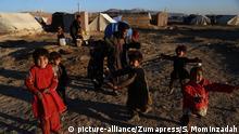 Afghanistan Flüchtlingslager Provinz Ghazni