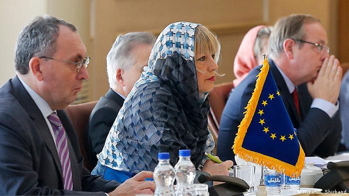 Tehran meeting EU delegation