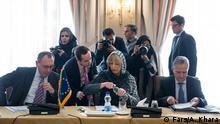 Iran Teheran Treffen zwischen dem Iran und der EU