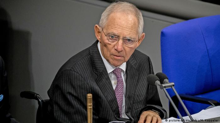 German Parliamentary President Wolfgang Schäuble opposes 'United States of Europe'