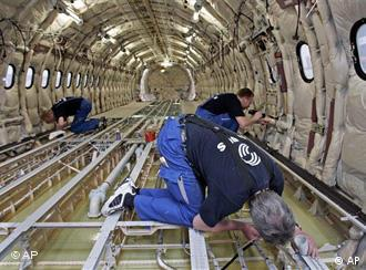 Workers in Airbus
