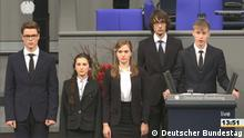 Russian students in the Bundestag (Deutscher Bundestag)