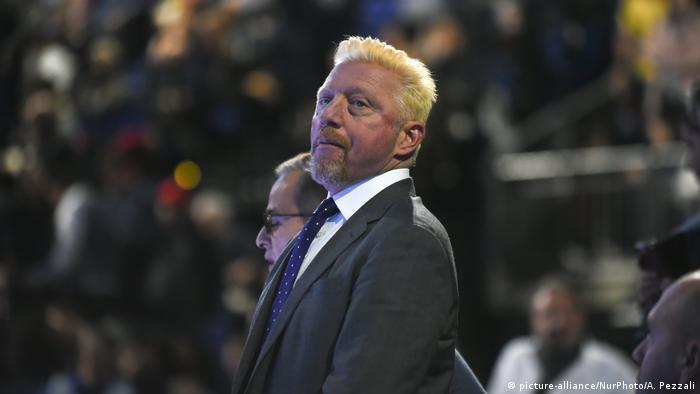 London boris Becker Nitto ATP World Tour Finals - Day Eight (picture-alliance/NurPhoto/A. Pezzali)