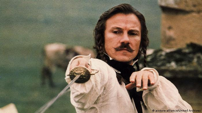 Filmstill von Die Duellisten mit Harvey Keitel beim Fechten (picture-alliance/United Archives)