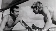Das Messer im Wasser, (NOZ W NOSZIE) POL 1962, Regie: Roman Polanski, LEON NIEMCZYK, ZYGMUNT MALANIWICZ | Verwendung weltweit