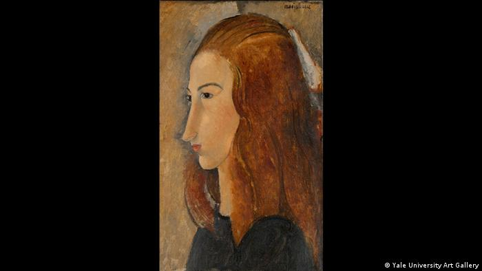 Portrait of a Woman by Modigliani (Yale University Art Gallery)