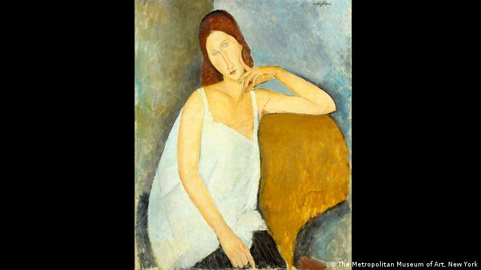 Jeanne Hebuterne by Modigliani (The Metropolitan Museum of Art, New York)