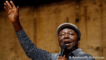 Simbabwe Morgan Tsvangirai, Oppositionspolitiker