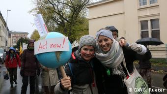 COP23 Klimakonferenz in Bonn Demonstration