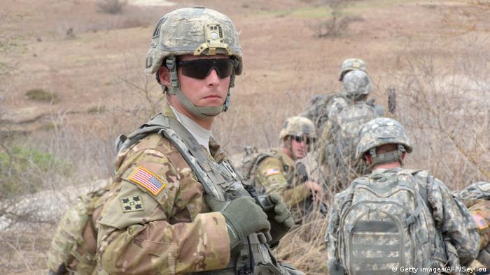 Afrika Senegal US Soldaten