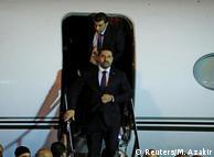 Саад Харири в аэропорту Бейрута