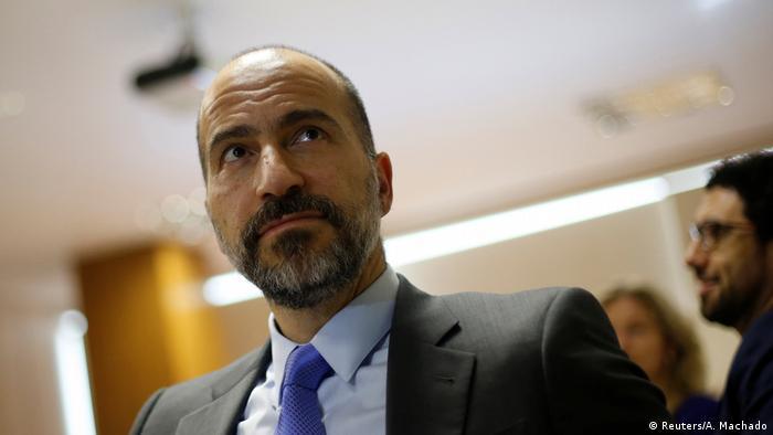 Uber Chef Dara Khosrowshahi (Reuters/A. Machado)