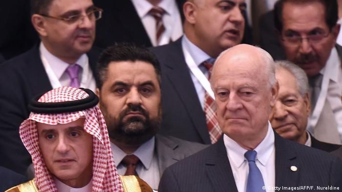 نشست نمایندگان اپوزیسیون سوریه در ریاض، در واکنش به اجلاس سوچی