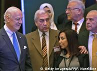 Спецпредставитель ООН по Сирии Стаффан де Мистура на встрече сирийской оппозиции в Эр-Рияде