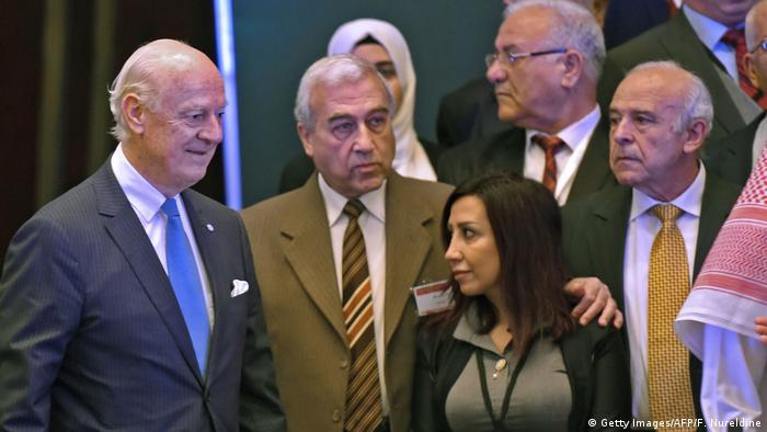 Saudi Arabien politische Beratungen der syrischen Opposition in Riad (Getty Images/AFP/F. Nureldine)