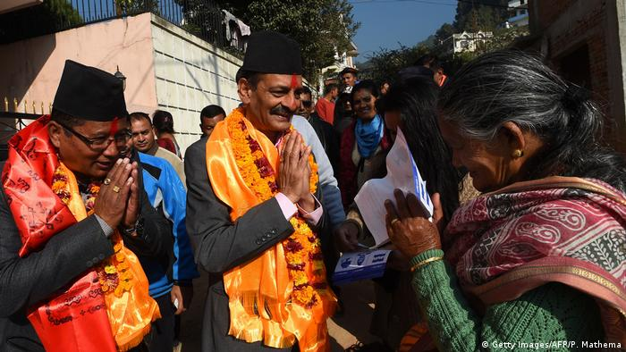 Nepal Wahlen (Getty Images/AFP/P. Mathema)
