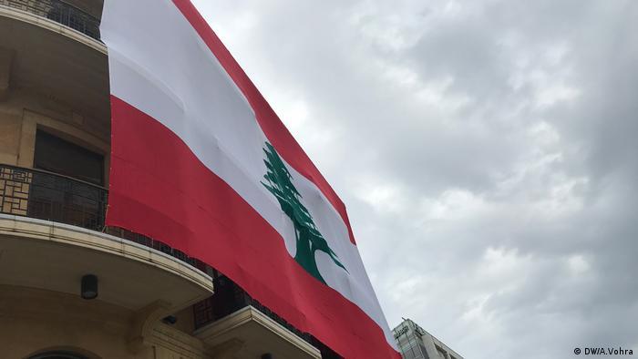 Libanon, Beirut, Flaggen feiern den Unabhänigkeitstag (DW/A.Vohra)