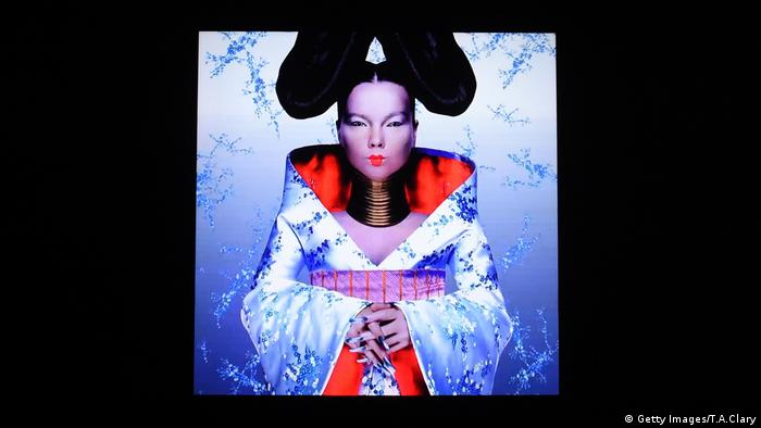 Cover of 'Homogenic' album by Björk (Getty Images/T.A.Clary)