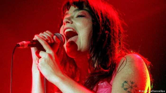 Björk onstage (picture-alliance/dpa)