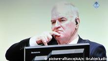 Niederlande Urteil Ratko Mladic | Fernsehübertragung
