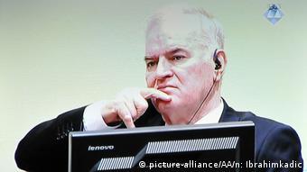 Ratko Mladic in The Hague