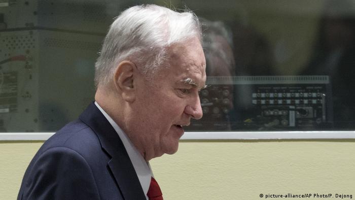 Ратко Младич у залі суду 22 листопада 2017 року
