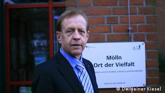 25. Jahrestag des Brandanschlages von Mölln, Bürgermeister Jan Wiegels (SPD)