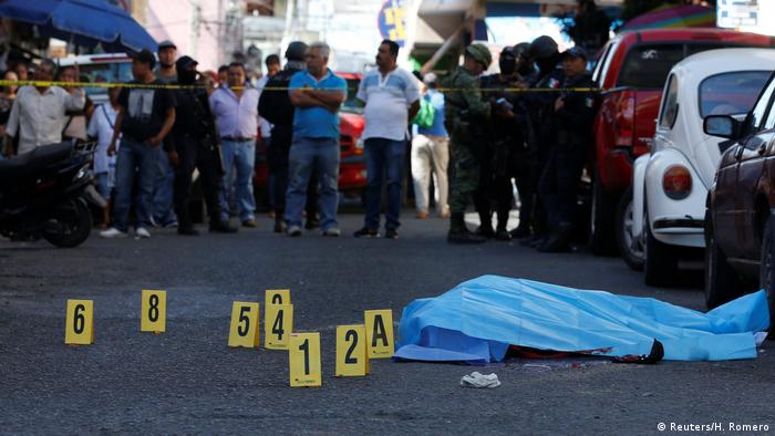 Mexiko Mord in Chilpancingo (Reuters/H. Romero)