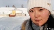Lehrerporträt Chantsal aus der Mongolei