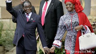 Robert Mugabe und Grace Mugabe