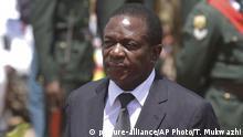 Simbabwe Emmerson Mnangagwa in Harare, 2014