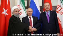Russland Sotschi | Rohani & Putin & Erdogan