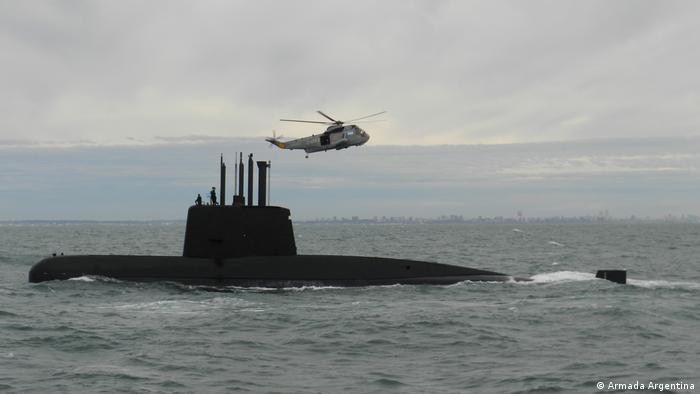 Argentinien Suche nach verschwundenem U-Boot | ARA San Juan (Armada Argentina)