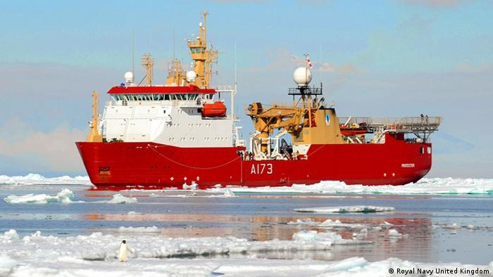 HMS Protector (Royal Navy United Kingdom)