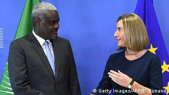 Brüssel Europäische Kommission | Moussa Faki Mahamat & Federica Mogherini