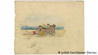 Kinderzeichnung von Judith Kerr