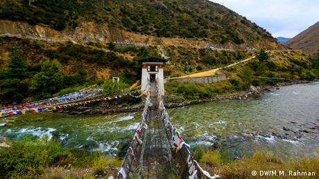 Bhutan Sehenswürdigkeiten in Paro (DW/M.M. Rahman)